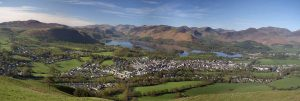 keswick, lake district, cranford house, bed and breakfast
